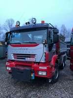 kipper vrachtwagen Iveco Magirus 3-Seiten-Kipper 2007