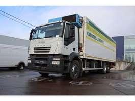 koelwagen vrachtwagen Iveco STRALIS 270-GAS + LAMBERET 8.2M+D'Hollandia 3000kg 2008