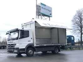 overige vrachtwagens Mercedes Benz Atego 822 Ewers Schwenkwand 2011
