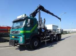 containersysteem vrachtwagen Volvo FM 440 8 X 6 + HAAKSYSTEEM + HIAB CRANE 2008