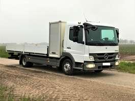 platform vrachtwagen Mercedes Benz Atego 7500kg €23950,- open laadbak met gereedschapkoffer!! 2012