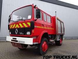 brandweerwagen vrachtwagen Renault S170 - 4x4 fire brigade - brandweer - watertank 2.500 ltr. - pomp! 1991