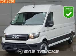 gesloten bestelwagen MAN TGE 3.140 2.0 TDI Airco 270° Deuren Lang Maxi L4H3 15m3 A/C 2018