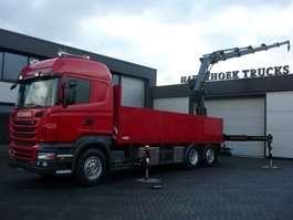 kraanwagen Scania R480 6x2-4  Euro 5  Retarder   Hiab 288EP-5 Hiduo 2011