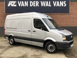 gesloten bestelwagen Volkswagen Crafter 2.0TDI 136pk L2H2 Airco, PDC, Camera 2014