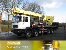 autohoogwerker vrachtwagen MAN 41.364 8x4 2000