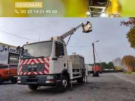 autohoogwerker vrachtwagen MAN TGL 12.180 Hoogwerker Palfinger Bison TKA17 2006