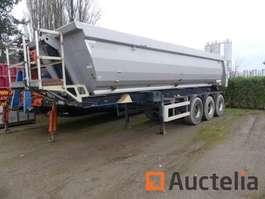 platte aanhanger vrachtwagen Meiller S00/400 2011
