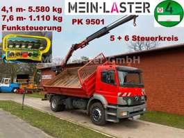 kipper vrachtwagen Mercedes Benz 1828 PK 9501 7,6 m- 1.1T +  Funk 5+6 Steuerkreis