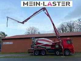 betonpomp vrachtwagen Mercedes Benz 3244 Actros Putzmeister 26 Meter PUMI 7m3