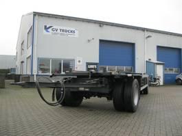 container chassis aanhanger Van Hool R 214 Containeraanhanger (incl. Bennes Marrel banen, 2 assen, BPW, dubbe... 1995