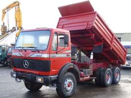 kipper vrachtwagen Mercedes Benz 2628 Kipper 6x4 V8 ZF 13T. Good Condition 1984