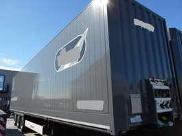 gesloten opbouw oplegger Krone Mega box trailer 2016