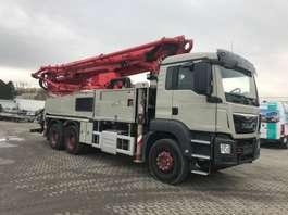 betonpomp vrachtwagen MAN 26.400-Putzmeister 38m-BSF38-5.16 HLS - German Truck 2015