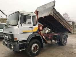 kipper vrachtwagen Iveco 190-20 **TIPPER-CRANE-FRENCH TRUCK** 1980