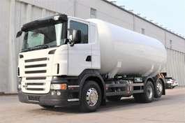 tankwagen vrachtwagen Scania R380 LPG Flüssig Gas 6x2 Analog Tacho 2006