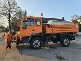 kipper vrachtwagen > 7.5 t MAN 10.224 FAK 4X4 Kipper Winterdst TÜV NEU  Singleb 1998