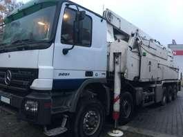 betonpomp vrachtwagen Mercedes Benz Actros 5051 - Putzmeister 52m - BSF52-5.16 HLS - German Pump 2009