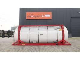 tankcontainer Van Hool 33.966L / 2-comp (26.467L+7.499L), L4BN, IMO-4, valid 5y insp.: 01/2022 2000