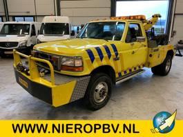 takelwagen-bergingswagen-vrachtwagen Ford F 350 bergingsvoertuig airco 1992