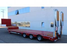 dieplader oplegger Rojo Trailer Machine-carrier Low-loader 3 axles