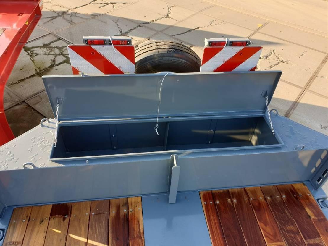 semi dieplader oplegger Broshuis Semi-Dieplader Broshuis Lease/Huur 2020