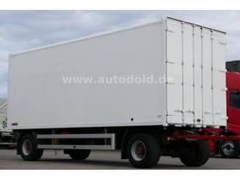 gesloten opbouw aanhanger KOEGEL AW18P Koffer Durchlade Ladebordwand max 1.500 kg 2006