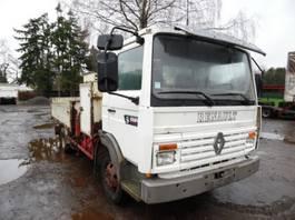 kipper vrachtwagen > 7.5 t Renault kipper met kraan 1994