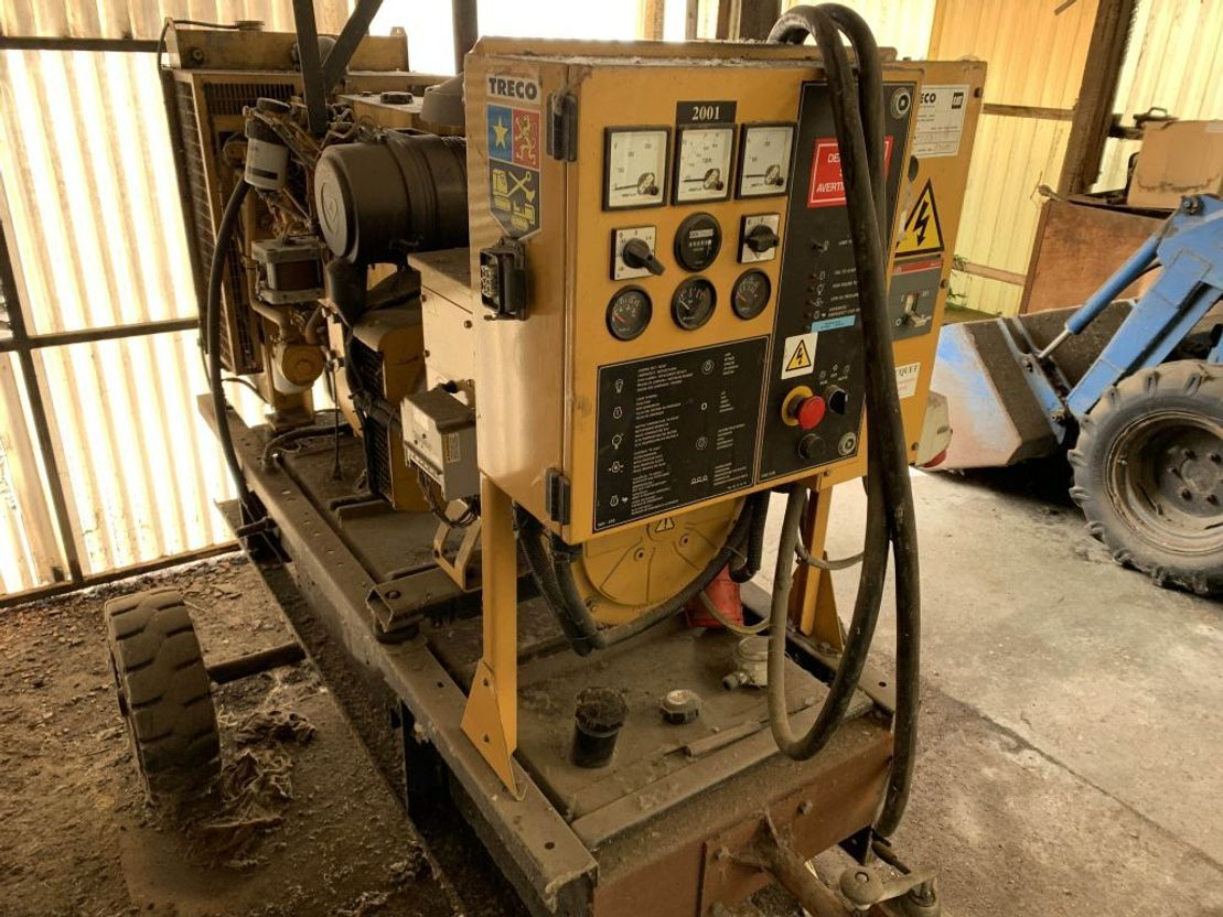 generator Caterpillar Olympian GEP 77 CAT engine 2001