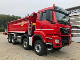 kipper vrachtwagen > 7.5 t MAN TGS 35.460 8x6 EURO6 Muldenkipper TOP! NEU!