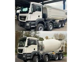 kipper vrachtwagen > 7.5 t MAN TGS 41.430 8x4 WECHSELSYSTEM KIPPER+MISCHER 2019