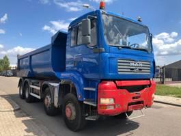 kipper vrachtwagen > 7.5 t MAN 41-410 8x8 2005