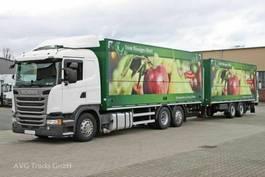 verkoop opbouw vrachtwagen Scania G 410 E6 Getränkezug 2x LBW Lenkachse Retarder 2014