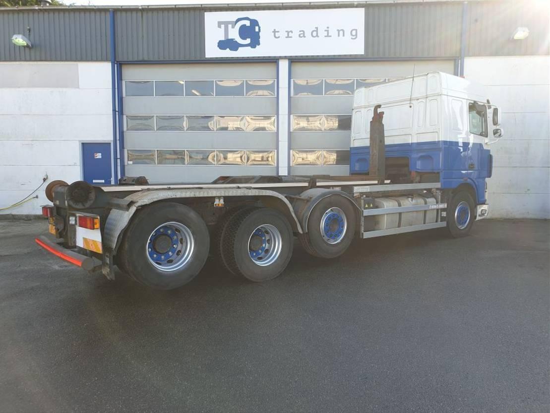 containersysteem vrachtwagen DAF FAK XF105 haakarmsysteem 8x2 NIEUWE APK 2011