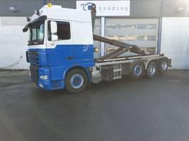 containersysteem vrachtwagen DAF FAK XF105 haakarm 2011
