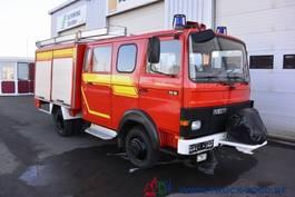 bakwagen vrachtwagen > 7.5 t Iveco 75E16 A Mannschaft- Gerätewagen Löschpumpe Top 1986