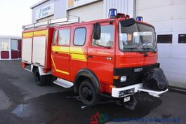 bakwagen vrachtwagen > 7.5 t Magirus Deutz 75E16 A Mannschaft- Gerätewagen Löschpumpe Top 1986