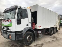 vuilniswagen vrachtwagen Iveco EUROTECH CURSOR 270 6X2 2000
