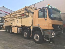 betonpomp vrachtwagen Mercedes Benz Actros 5051 Putzmeister 52-5 BSF ** TOP ** 2009
