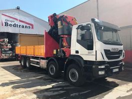 platform vrachtwagen Iveco TRAKKER 450 PALFINGER 78002 SH + JIB PJ-170-E 2017 2017