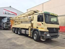 betonpomp vrachtwagen Mercedes Benz ACTROS 3236 Bomba de hormigón KCP 38 M-Z 2010