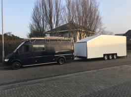 bakwagen aanhangwagen Wagenaar WA1300 , 3 assige gesloten aanhangwagen ,   tractor pulling , a... 2019