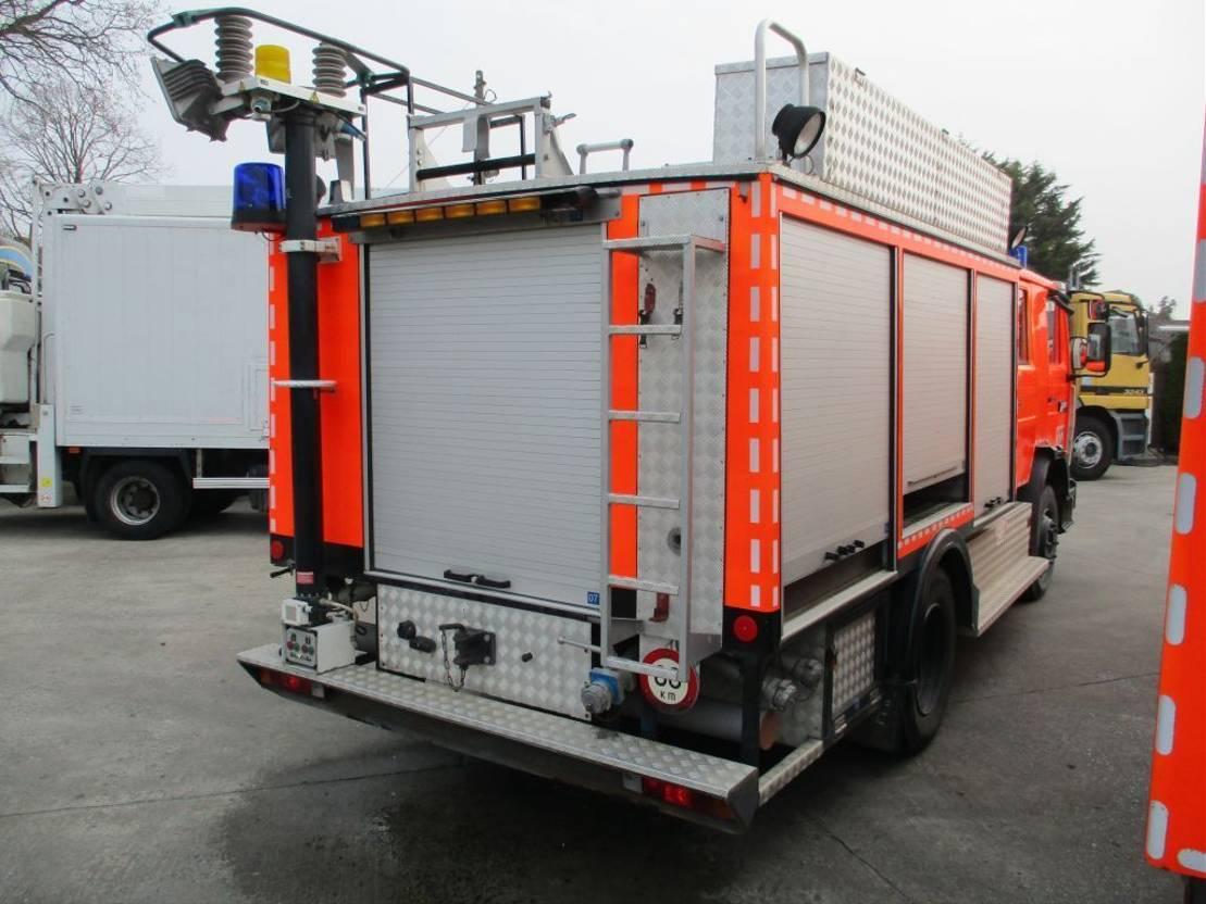brandweerwagen vrachtwagen Renault M 200 Feuerwehr / Firetruck / Pompiers - 2000L Tank + Ziegler pump 1992