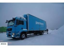 bakwagen vrachtwagen > 7.5 t MAN TGM 18.340 box truck 2012