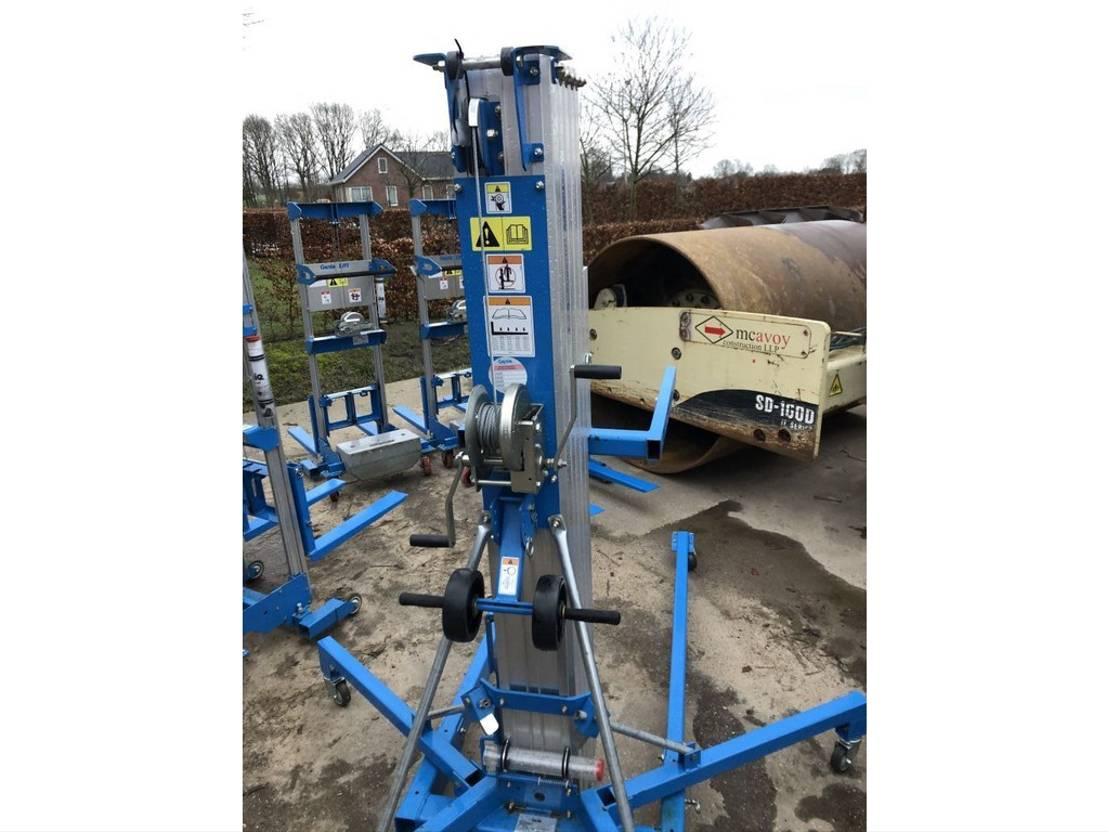 hefmast uitrusting Genie GL4, GL10, GL12, SLA25 HEFMAST 2018
