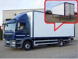 bakwagen vrachtwagen > 7.5 t MAN TGM 12.250  4X2 2011