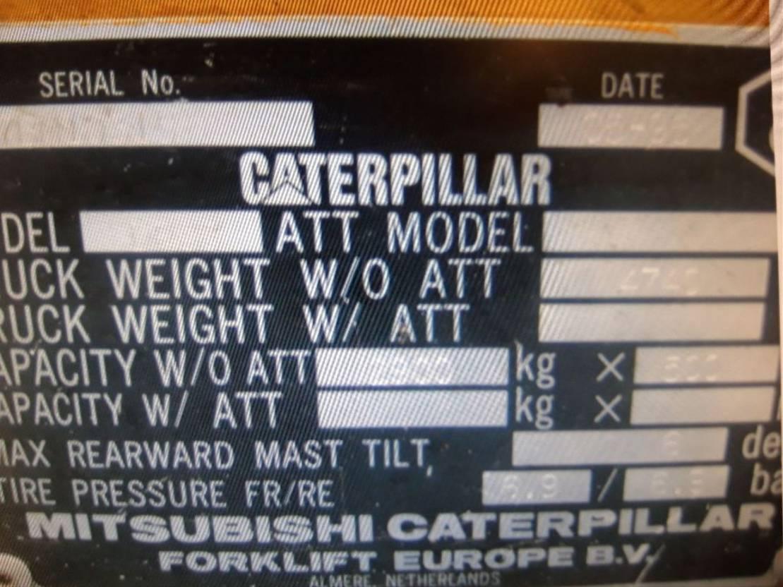 vorkheftruck Caterpillar DP30 1999