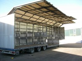 promotie oplegger Schmitz Cargobull Getränkeanhänger 35,5 to hydr. Seitenwände