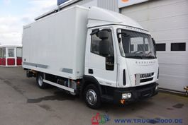 bakwagen vrachtwagen > 7.5 t Iveco EuroCargo 75E18 EEV Koffer Seitentür LBW 1.5 to 2014