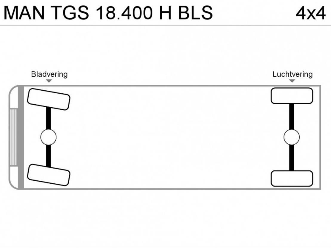 standaard trekker MAN TGS 18.400 H BLS 2013
